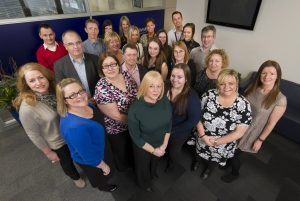 Property success – the plot sales team at law firm Ward Hadaway.