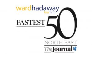 Fastest 50 North East logo
