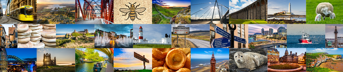 A montage of various scenic locations